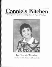 CONNIE'S KITCHEN COVER